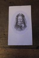 Doodsprentje Litho Van Loo Markgravin De Verquigneul De Preudhomme D'hailly Kasteel Poeke 1871 - Images Religieuses