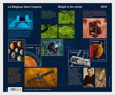 H01 Belgium 2019 Winning Belgium - Belgium In Space  MNH Postfrisch - Ungebraucht