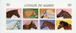 Angola 1997-Chevaux-YT 1087/94***MNH - Angola