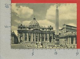 CARTOLINA NV VATICANO - Piazza S. Pietro E Basilica - 10 X 15 - Vaticano