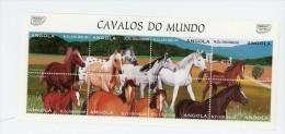 Angola 1997-Chevaux De Race-YT 1071/8***MNH - Angola