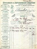ALFORT.HUILERIE & SAVONNERIE D'ALFORT.HUILES & GRAISSES INDUSTRIELLES.BARILLET GEORGES 45 RUE BOUGELAS. - France