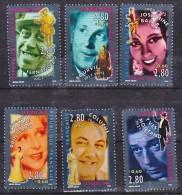 France 2897 2902 Artistes   1994 Neuf ** TB MNH  Sin Charnela Faciale 3.06 - Neufs