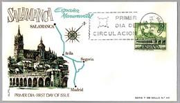 SALAMANCA - PUENTE SOBRE EL RIO TORMES. SPD/FDC Madrid 1968 - Puentes