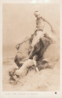 *** ART ***  Peinture - Salon De Paris 1908  -- PINCHART  La Sirene - écrite TTB - Malerei & Gemälde