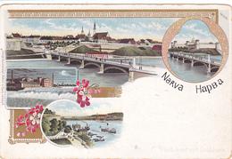 513/ Narva Hapba, Photobunt Mit Golddruck - Russie