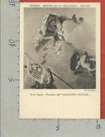 CARTOLINA NV ITALIA - 1936 Mostra Settecento Veneziano A Cà Rezzonico - VENEZIA - TIEPOLO - Allegoria Nuziale - 10 X 15 - Expositions