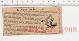 Presse 1908 Orgue De Barbarie Musicien Aveugle Boston évocation Valse Des Roses Delmet Montmartre 216E10 - Unclassified
