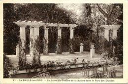 CPA -  LA BAULE-LES-PINS - SCENE DU THEATRE DANS LE PARC DES DRYADES - La Baule-Escoublac