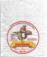 """Papier Emballage Fromage / 70 LA ROCHE MOREY  Fromage """"Le Roichois"""" / 52 MONTIGNY LE ROI """"L'Etoile D'Or - Autres Collections"""