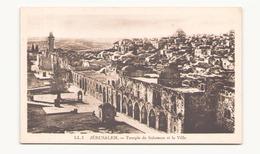 ISRAEL JERUSALEM TEMPLE DE SALOMON ET LA VILLE - Israel