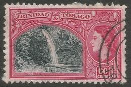 Trinidad & Tobago. 1953-59 QEII. 60c Used. SG 276 - Trinidad & Tobago (...-1961)