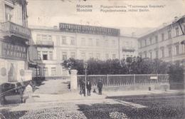 516/ Moscou, Pogedestvenka, Hotel Berlin, Mensen, Paard - Russie