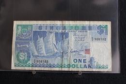 M-An / Billet -  Singapour  -  Singapore 1 One Dollar / Année ? - Singapore
