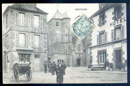 Cpa Du 22  Corlay Place De L' église    ACH5 - France