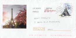 TOUR EIFFEL - Biglietto Postale