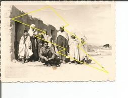 Photo   Militaire   Militaria  12 Batterie  4RACM  ?  Algerie / N° 310   ) - Uniformes