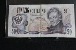 M-An / Billet  - Autriche Funfzig Schilling 50   / Année 1970 - Autriche
