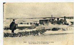 48 - Train Bloqué Par La Neige Entre MENDE Et LA BASTIDE - - Mende