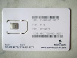 RARE SIM GSM  DOCOMO PACIFIC    GUAM  TOP  MINT - Guam