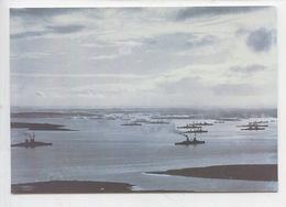 Flotte Allemande Novembre 1918 Dans Les Orcades Nord Ecosse - German High Seas Fleet In Scapa Flow (cp Vierge) Navire - Weltkrieg 1914-18