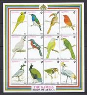 J422 GAMBIA FAUNA BIRDS OF AFRICA 1SH MNH - Birds