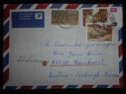 Afrique Du Sud , Lettre De 1988 Pour Rankweil - Afrique Du Sud (1961-...)