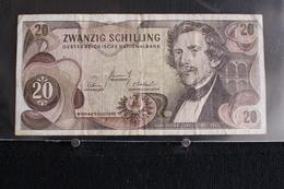 M-An / Billet  - Autriche Funfzig Schilling 20   / Année 1967 - Autriche