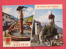 Autriche - St Anton Am Arlberg - Scans Recto-verso - St. Anton Am Arlberg
