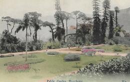 Old Colour Postcard, Public Gardens, Hongkong. - Chine (Hong Kong)