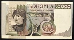 10000 LIRE DEL CASTAGNO 06 09 1980 Q.FDS LOTTO 1955 - [ 2] 1946-… : République