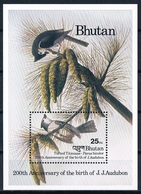 Bloc Sheet Oiseaux Birds Neuf MNH ** Bhutan 1985 - Autres