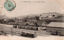 GRANVILLE-Vue Prise De La Gare - Granville