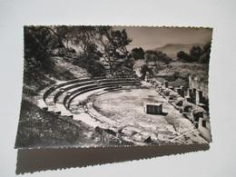 CPSM Algérie Tipasa  Le Théatre Antique   1950 - Algérie