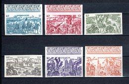 MADAGASCAR    N° 66 à 71  NEUFS SANS CHARNIERE COTE 80.50€   TCHAD AU RHIN - Madagaskar (1889-1960)