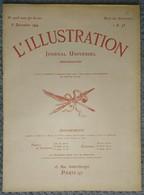 L'Illustration 4005 6 Décembre 1919 Lady Astor/Gare De Leipzig/L'île Maurice/USA Football Yale-Princeton/Fourragères - Journaux - Quotidiens