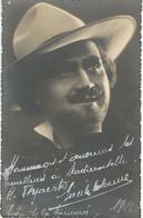 SUPERBE PHOTO DEDICACEE - Artiste Théatre De La Monnaie - Signature Illisible - 1926 - Artiesten