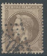 Lot N°46907  Variété/n°30, Obli GC, Filet OUEST Absent, Filet SUD - 1863-1870 Napoleon III With Laurels