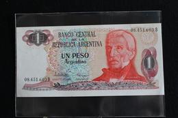 M-An / Billet  - Argentine - Argentina -  1 Peso Argentino ( Gral. San Martin ) / Année ? - Argentine