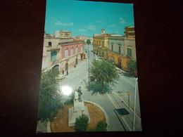 B719   Canosa Di Puglia Piazza Imbriani Viaggiata Presenza Lieve Piega - Italia
