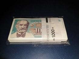 BUNDLE UNC 100 PIECES - YUGOSLAVIA 10 DINARA 1994. UNC - Yugoslavia
