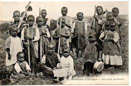 Missions D'afrique. Les Petits Jardiniers - Missions