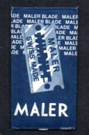 Rasage. Razor Blade. Lame De Rasoir. Lame Maler, Swiss Made. - Razor Blades