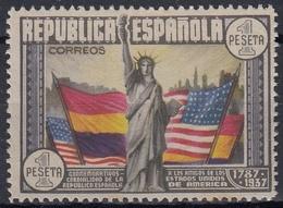 ESPAÑA 1938 Nº 763 NUEVO SIN GOMA - 1931-Hoy: 2ª República - ... Juan Carlos I