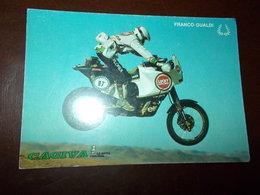 B719   Motociclismo Franco Gualdi Cagiva Non Viaggiata - Sport Moto