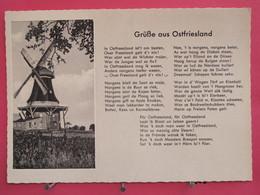 Visuel Très Peu Courant - Allemagne - Gruß Aus Ostfriesland - Scans Recto-verso - Allemagne