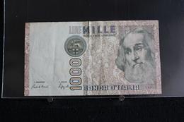 M-An / Billet  -  Italie - République Banca D'Italia  - 1000 Lire  ( Marco Polo ) / Année 1982 - [ 2] 1946-… : République