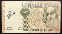 1000 LIRE MARCO POLO SERIE F 1988   LOTTO 1959 - [ 2] 1946-… : République