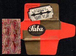 Rasage. Razor Blade. Lame De Rasoir. Lame Saba Gold N° 10, Solingen. - Razor Blades