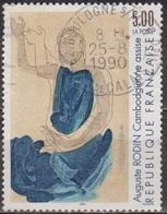 Art, Auguste Rodin: Cambodgienne Assise - FRANCE - Dessin - N° 2636  - 1990 - Frankreich